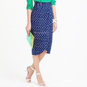 J.Crew Wrap Skirt (never worn)